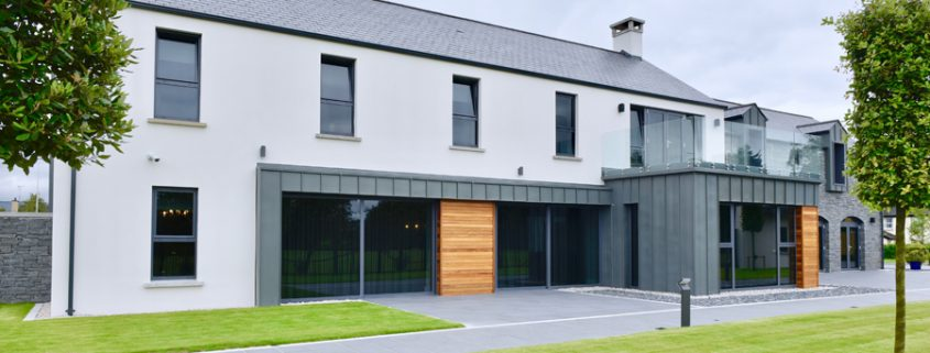 Omagh dwelling house front